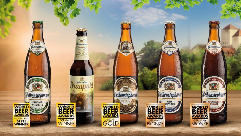 Weihenstephan World Beer Awards 2018