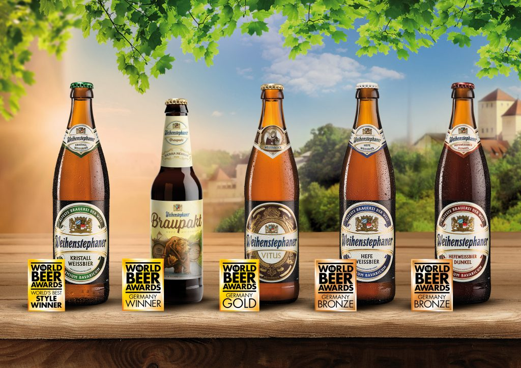 Weihenstephan Earns Five Titles at This Year's World Beer Awards