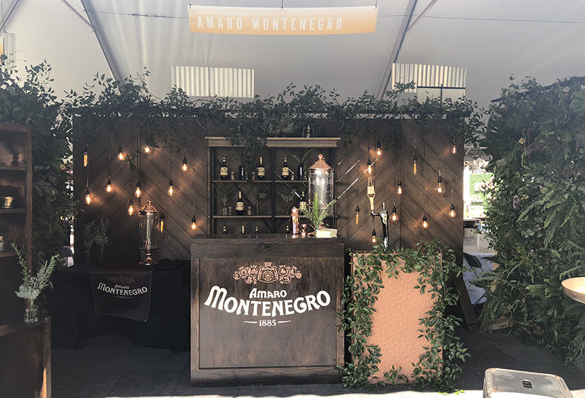 Amaro Montenegro Booth at Charleston Wine + Food