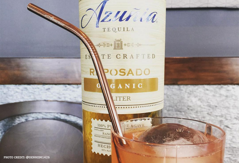 Azuñia Tequila Presents #NoPlasticStraws365