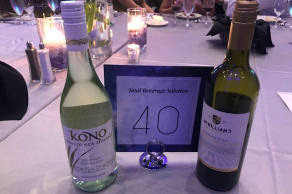 Total Beverage Solution, Yes Carolina Gala, Kono and McWilliams Wine