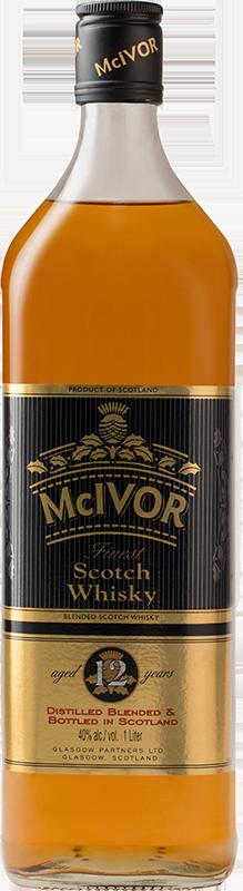 McIvor Finest Scotch Whiskey 12 Year