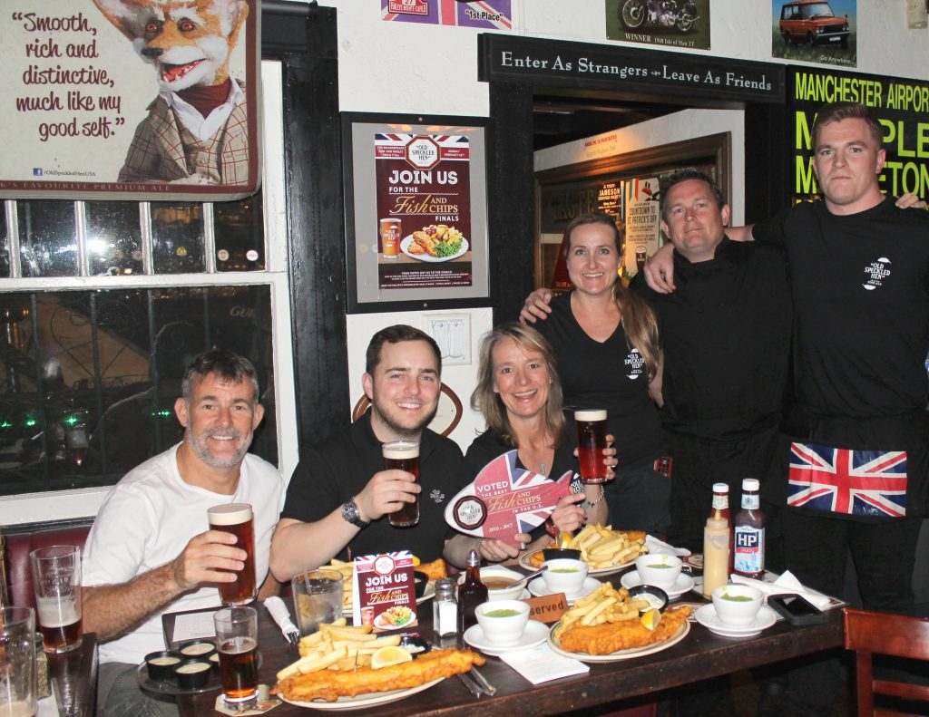 Shakespeare Pub and Grille Receives the Old Speckled Hen