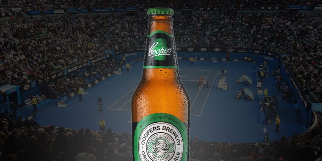 Coopers is a Proud Sponsor of the Australian Open